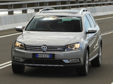 Photos of Volkswagen Passat Alltrack AU-spec (B7) 2012