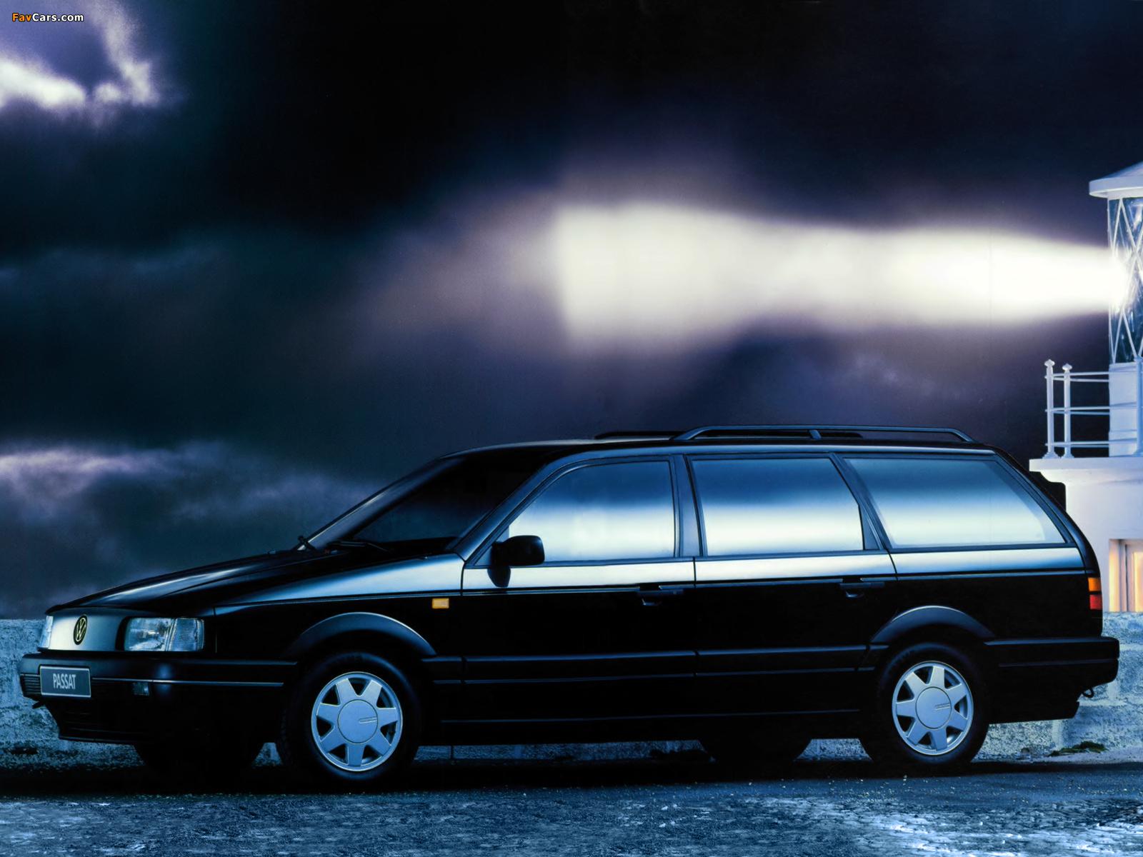 Pictures Of Volkswagen Passat Variant Gt B3 1988 93