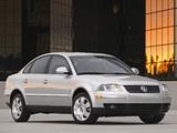 Pictures of Volkswagen Passat 1.8T 4MOTION Sedan US-spec (B5+) 2000–05