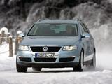 Pictures of Volkswagen Passat V6 FSI 4MOTION Variant (B6) 2006–10