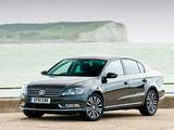 Pictures of Volkswagen Passat BlueMotion Sport UK-spec (B7) 2010