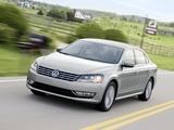 Pictures of Volkswagen Passat US-spec (B7) 2011