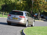 Pictures of Volkswagen Passat Estate BlueMotion UK-spec (B8) 2015