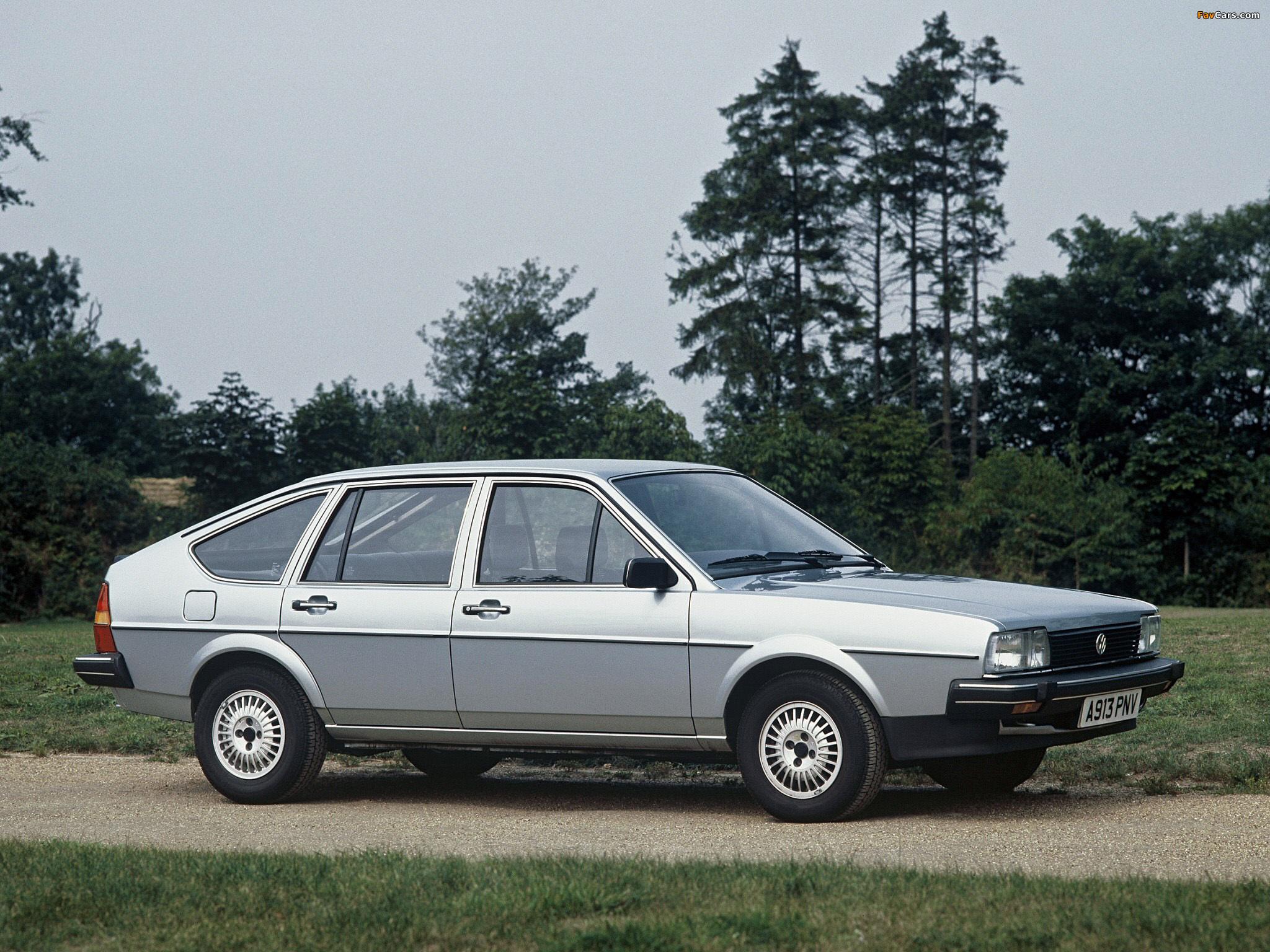 Volkswagen Passat 5 Door B2 1980 88 Images 2048x1536