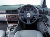 Volkswagen Passat V6 4MOTION Sedan ZA-spec (B5+) 2000–05 pictures