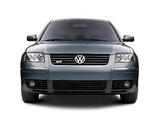 Volkswagen Passat W8 Sedan US-spec (B5+) 2002–04 wallpapers