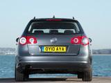Volkswagen Passat BlueMotion R-Line Estate (B6) 2009–10 images