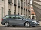 Volkswagen Passat BlueMotion R-Line Estate (B6) 2009–10 photos