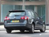 Volkswagen Passat BlueMotion R-Line Estate (B6) 2009–10 pictures