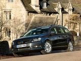 Volkswagen Passat BlueMotion Variant UK-spec (B7) 2010 images