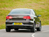 Volkswagen Passat BlueMotion Sport UK-spec (B7) 2010 images