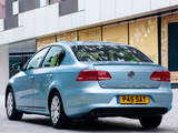 Volkswagen Passat BlueMotion UK-spec (B7) 2010 photos