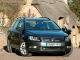 Volkswagen Passat BlueMotion Variant UK-spec (B7) 2010 photos