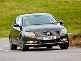 Volkswagen Passat BlueMotion Sport UK-spec (B7) 2010 pictures