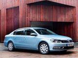 Volkswagen Passat BlueMotion UK-spec (B7) 2010 pictures