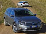Volkswagen Passat Alltrack AU-spec (B7) 2012 pictures