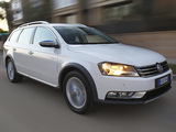 Volkswagen Passat Alltrack AU-spec (B7) 2012 wallpapers