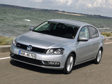 Volkswagen Passat TDI BlueMotion (B7) 2013 pictures