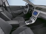 Volkswagen Passat R36 Sedan (B6) 2007–10 wallpapers