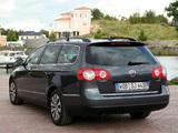 Volkswagen Passat BlueMotion Variant (B6) 2008–10 wallpapers