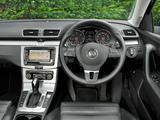 Volkswagen Passat BlueMotion Sport UK-spec (B7) 2010 wallpapers