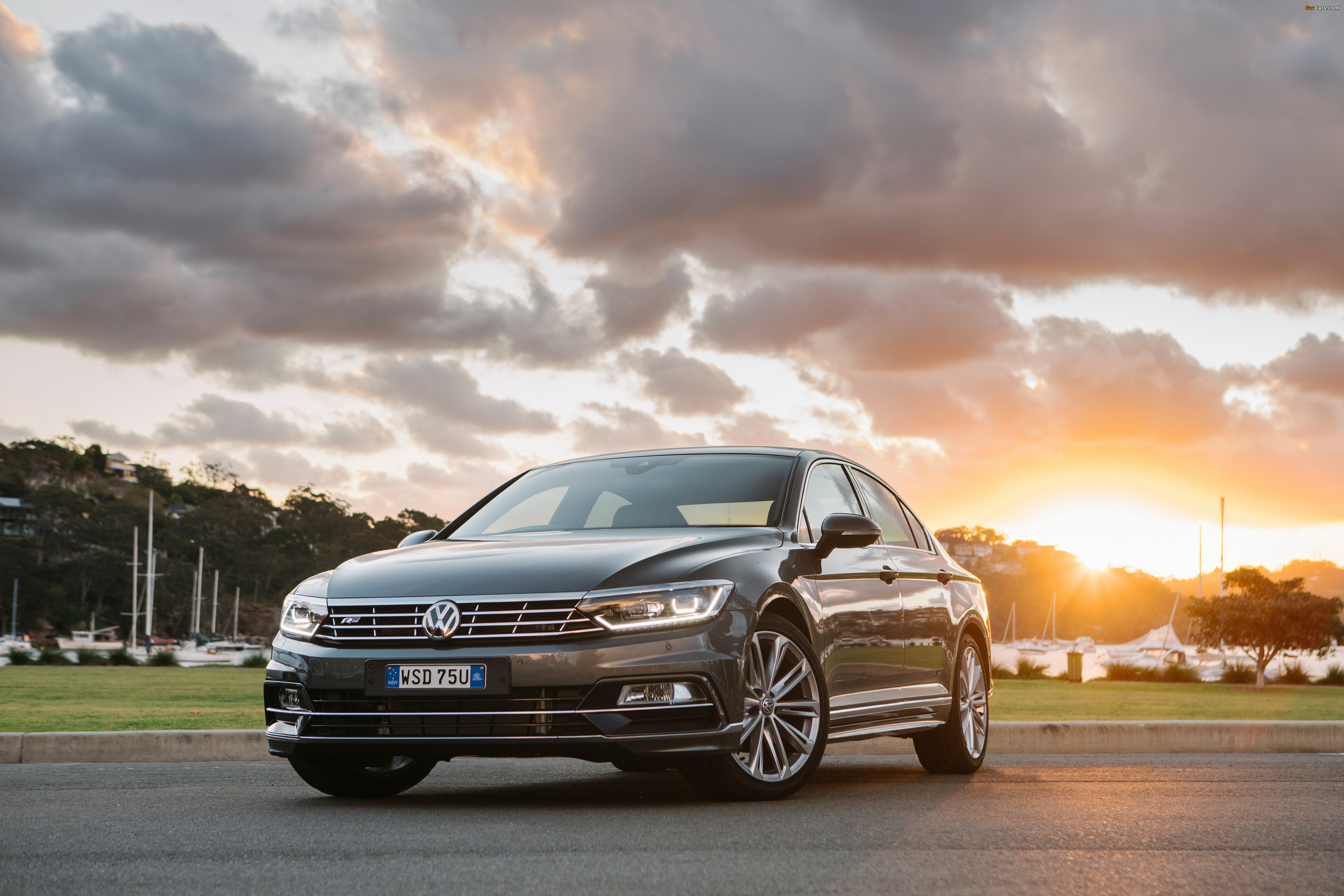 updates new more revealed rear passat front ends volkswagen with tech