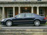 Images of Volkswagen Phaeton V10 TDI UK-spec 2002–07