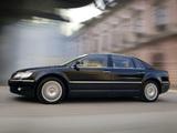 Images of Volkswagen Phaeton Long 2002–07