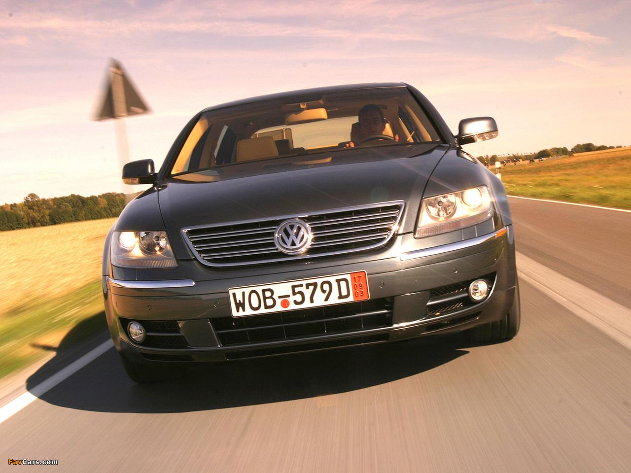 images of volkswagen phaeton w12 us spec 2002 07 1280x960. Black Bedroom Furniture Sets. Home Design Ideas