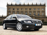 Images of Volkswagen Phaeton W12 UK-spec 2007–10