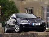 Photos of Volkswagen Phaeton V10 TDI UK-spec 2002–07