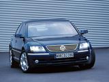 Photos of Volkswagen Phaeton V8 2002–07
