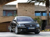Photos of Volkswagen Phaeton V8 2007–10