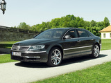 Photos of Volkswagen Phaeton V8 Long 2010