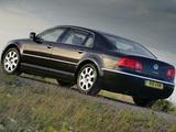 Pictures of Volkswagen Phaeton V10 TDI UK-spec 2002–07