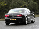Pictures of Volkswagen Phaeton W12 UK-spec 2007–10