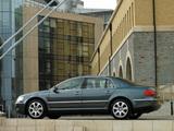 Volkswagen Phaeton V10 TDI UK-spec 2002–07 photos
