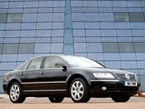 Volkswagen Phaeton W12 UK-spec 2002–07 photos