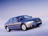 Volkswagen Phaeton V8 2002–07 pictures
