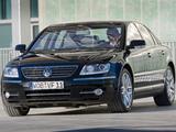 Volkswagen Phaeton V8 2007–10 images