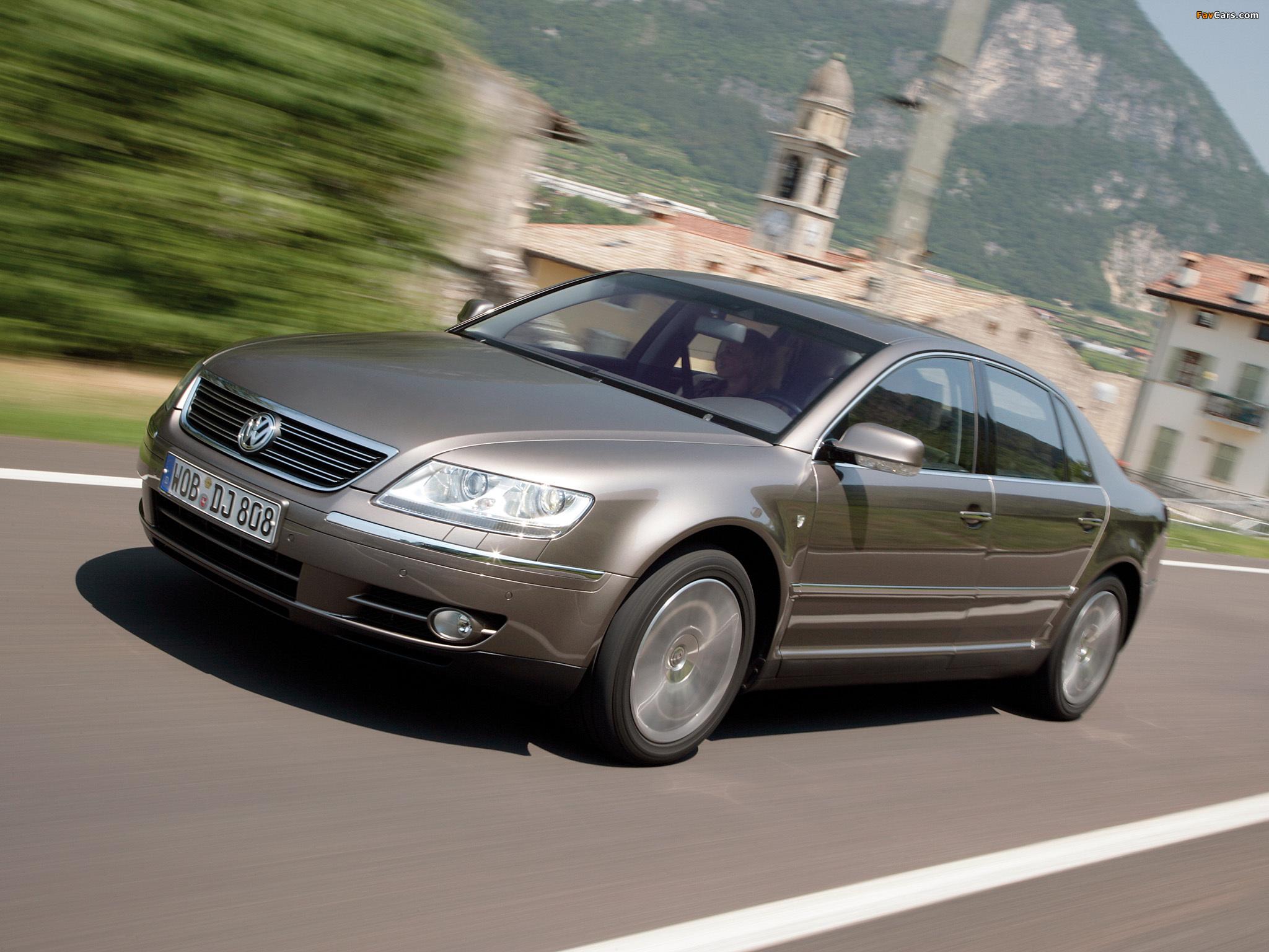 Volkswagen Phaeton Individual 2007–08 images (2048 x 1536)