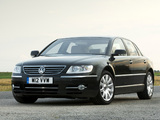 Volkswagen Phaeton W12 UK-spec 2007–10 images