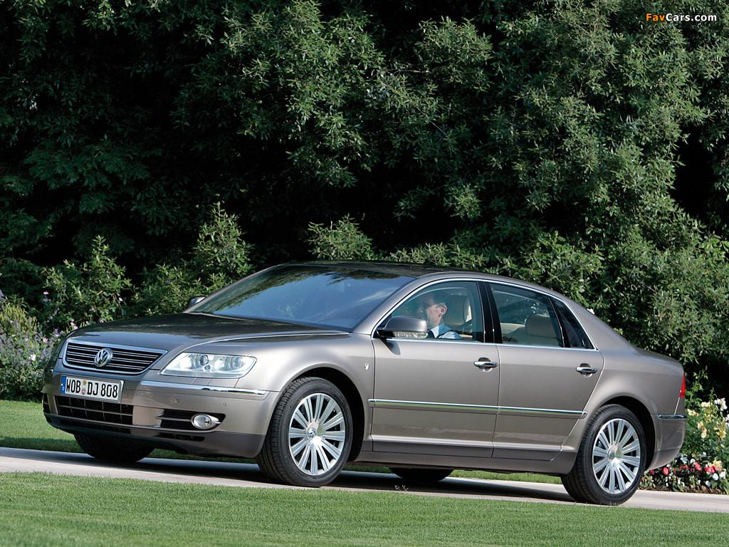 Volkswagen Phaeton Individual 2007–08 photos (1024 x 768)