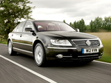 Volkswagen Phaeton W12 UK-spec 2007–10 pictures