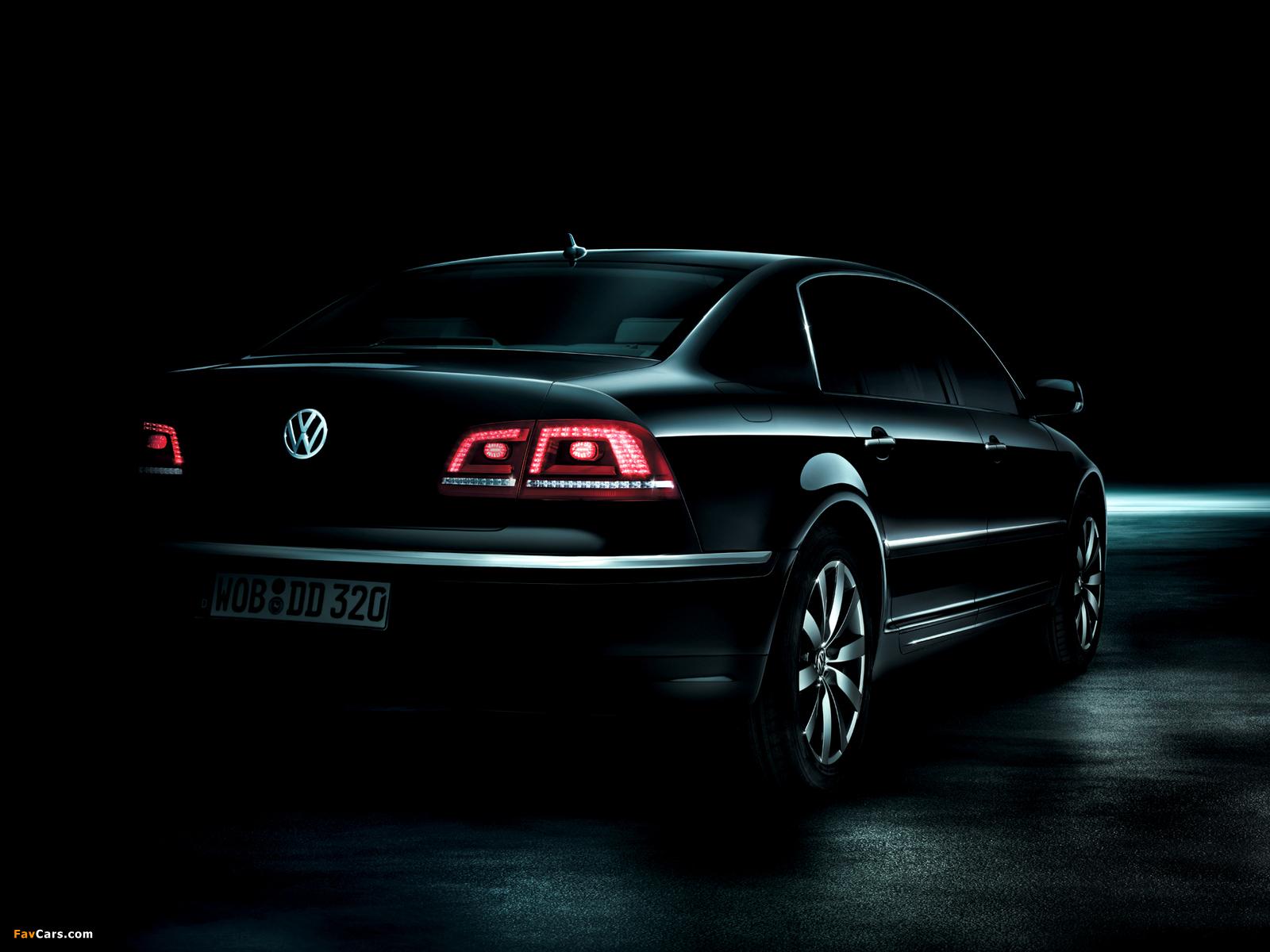 Volkswagen Phaeton V8 2010 images (1600 x 1200)