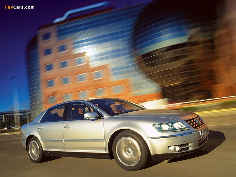 Volkswagen Phaeton W12 2002–07 wallpapers (800 x 600)