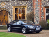 Volkswagen Phaeton W12 UK-spec 2007–10 wallpapers
