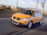 Images of Volkswagen CrossPolo (Typ 9N3) 2006–09