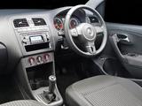 Images of Volkswagen Polo Sedan ZA-spec (V) 2010