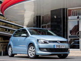 Images of Volkswagen Polo BlueMotion 5-door UK-spec (Typ 6R) 2010